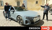 Emission Turbo : Audi e-tron GT; AMG GT; Octavia RS; Changan CS 35: Polo