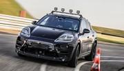 Le Porsche Macan 100% électrique se prépare
