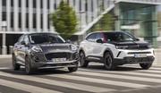 Essai comparatif : l'Opel Mokka défie le Ford Puma