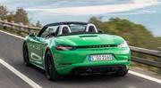 Porsche préparerait un concept de 718 Boxster électrique