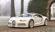 Une Bugatti Chiron habillée par Hermès