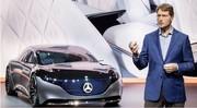 Voiture électrique : le patron de Daimler met en garde contre la casse sociale