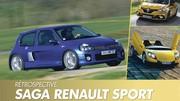 Saga Renault Sport : L'histoire des modèles routiers de 1995 à 2021