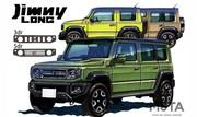 Suzuki Jimny (2022) : La version cinq-portes se précise
