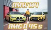 Essai BMW M4 VS Mercedes-AMG A 45 S : les Teutons jaunes