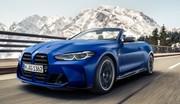 BMW dévoile la nouvelle M4 cabriolet