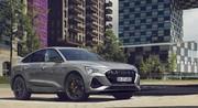 Audi e-tron S line black edition : des touches de noir pour renforcer la sportivité