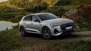 Audi e-tron S Line Black Edition (2021) : du noir et du sport