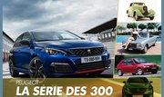 Peugeot. Retour sur la saga des berlines de la série 300