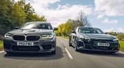 Essai Audi RS e-tron GT vs BMW M5 CS