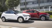 Essai comparatif : le Renault Captur hybride défie le Hyundai Kona