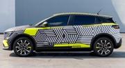 Renault Mégane E-Tech Electric (2022) : look de crossover, 30 proto sur les routes cet été