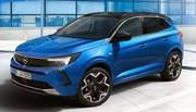 Le Opel Grandland millésime 2022 gagne en style !