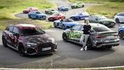 Premières photos officielles de la nouvelle Audi RS 3