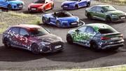 Audi RS3 (2021) : Moteur cinq-cylindres confirmé en images