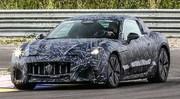 Premiers clichés de la première Maserati électrique