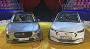 Ford Mustang Mach-E VS Jaguar I-Pace : animaux branchés