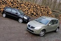 Essai Dacia Sandero dCi 85 vs Kia Rio CRDi 110 : Le juste prix