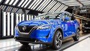 Nouveau Nissan Qashqai : démarrage de la production à Sunderland en photos