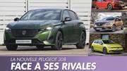La nouvelle Peugeot 308 (2021) face à ses concurrentes