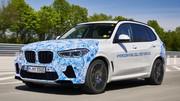 BMW X5 à hydrogène, plus de 500 km d'autonomie