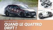 Audi RS 3 (2022) : Le quattro adapté aux délices de la glisse !