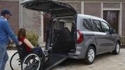Le nouveau Renault Kangoo se convertit au transport de personnes à mobilité réduite