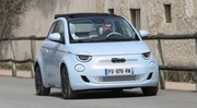 Essai Fiat 500E Cabriolet 2021