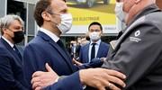 Macron à Douai pour lancer une usine de batteries sino-japonaise