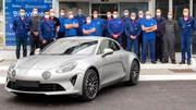 Alpine sort sa 10.000ème A110 de l'usine de Dieppe