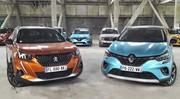Baromètre des ventes 1er semestre 2021 : Peugeot devance Renault