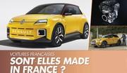 Les voitures françaises sont-elles encore « made in France » ?
