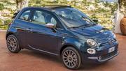 Fiat 500C Yacht Club Capri (2021) : Le cabriolet chic pour l'été