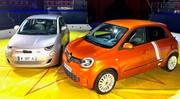 Fiat 500 e vs Renault Twingo Z.E. : les petites branchées