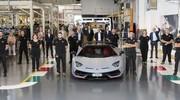 Déjà 10 ans de Lamborghini Aventador