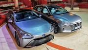 Hyundai Nexo et Toyota Mirai : seules au monde