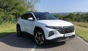 Essai Hyundai Tucson hybride rechargeable (2021) : plein de qualités