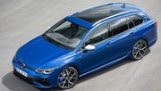 Volkswagen Golf 8 R SW (2021) : un break sportif fort de 320 ch