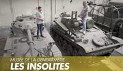 Les véhicules insolites des réserves du musée de la Gendarmerie