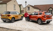 Le Dacia Duster restylé (2021) face au Suzuki Vitara