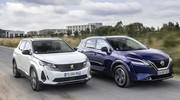 Essai comparatif : Le Nissan Qashqai 2021 défie le Peugeot 3008