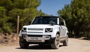 Essai Land Rover Defender PHEV hybride rechargeable (2021) : le déplace-montagnes