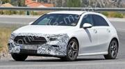 La Mercedes Classe A restylée 2021 se montre presque sans camouflage