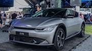 La Kia EV6 a 528 km d'autonomie
