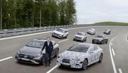 Mercedes : de l'électrique pour toute la gamme dès 2022
