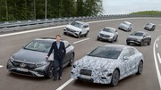 Mercedes : Un modèle tout électrique à chaque niveau de gamme dès 2025