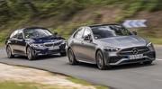 Essai comparatif : La Mercedes Classe C (2021) défie la BMW Série 3