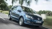 Le Volkswagen Sharan quitte le configurateur