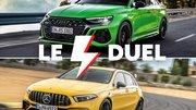 Le duel : nouvelle Audi RS3 vs Mercedes A 45 AMG S