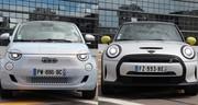 Fiat 500e ou Mini Cooper SE restylée : laquelle choisir ?